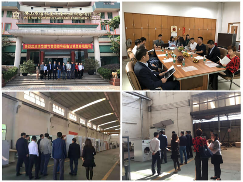 Laundry equipment cooperation with HK Gas Group