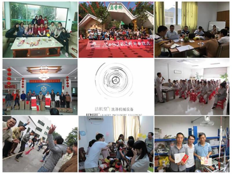 Goworld laundry equipment company activities