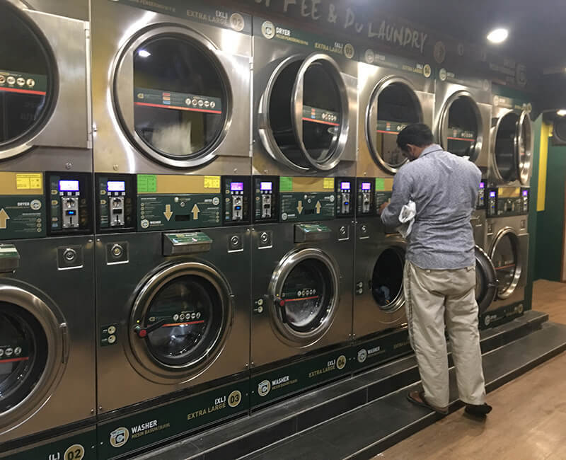 Self-Service Laundry Project from GOWORLD