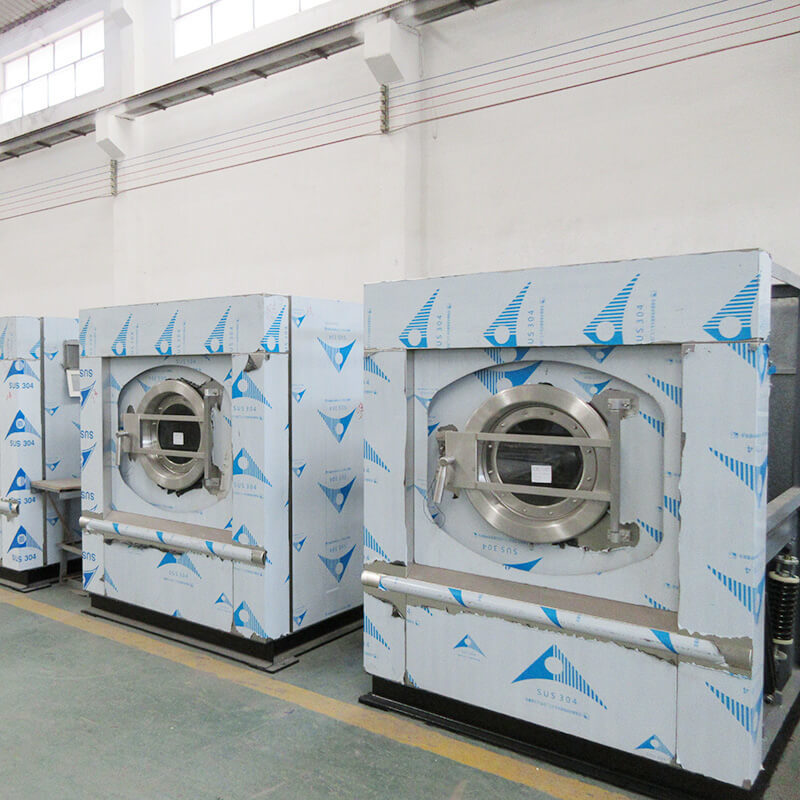 15kg-150kg Automatic washer extractor |soft mount washer for hotel hospital laundry center