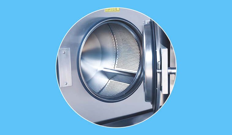 GOWORLD stainless steel washer extractor simple installation for hospital-6