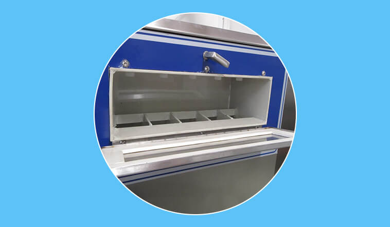 GOWORLD stainless steel washer extractor simple installation for hospital-7