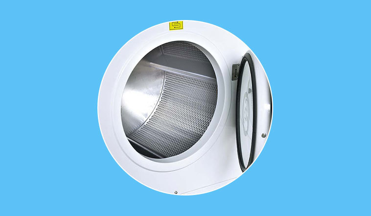 safe industrial tumble dryer commercial for drying laundry cloth for hotel
