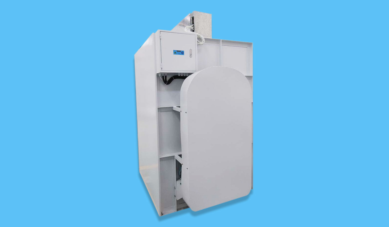 GOWORLD automatic tumble dryer machine steadily for hospital-9