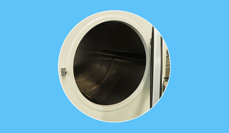 GOWORLD Stainless steel laundry dryer machine steadily for inns-4