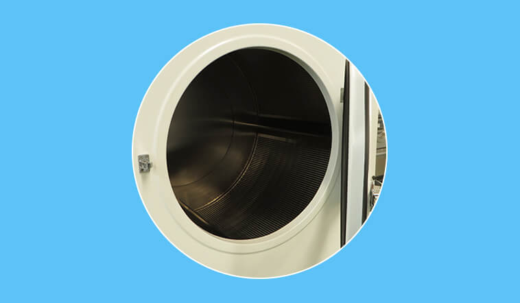 GOWORLD automatic commercial tumble dryer natural for laundry plants