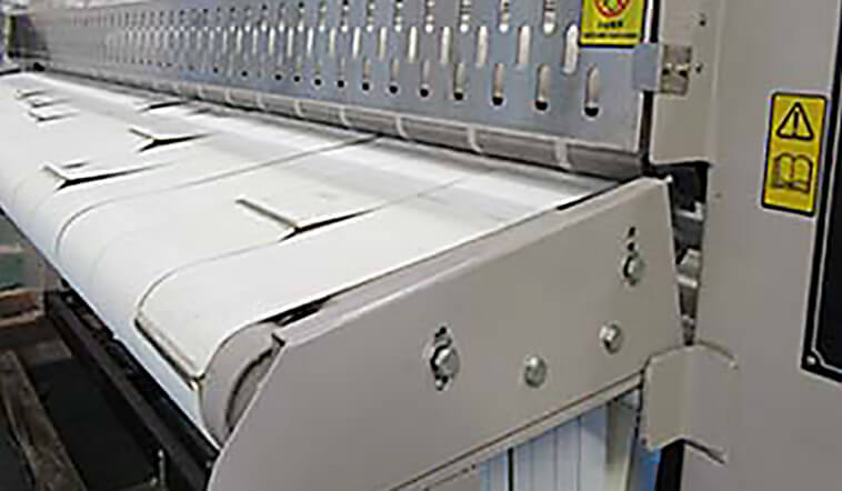GOWORLD heat proof flat work ironer machine free installation for inns-5