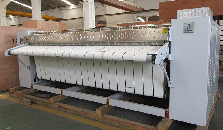 safe flat work ironer machine flatwork factory price for hospital