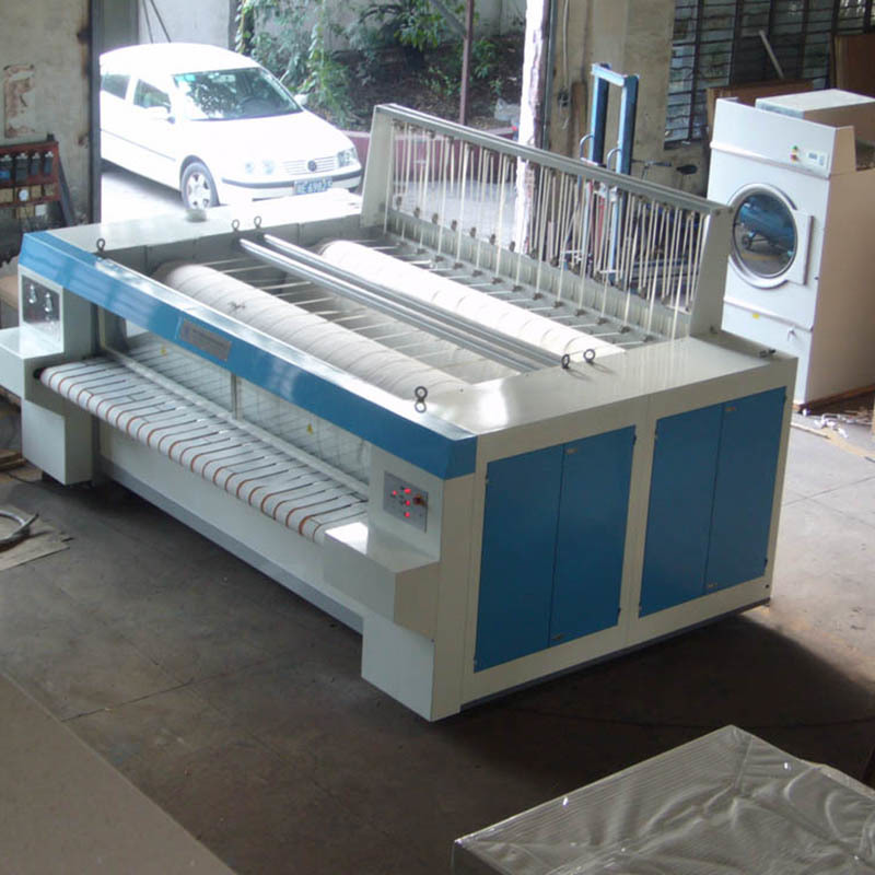 stainless steel flatwork ironer hospital factory price for textile industries
