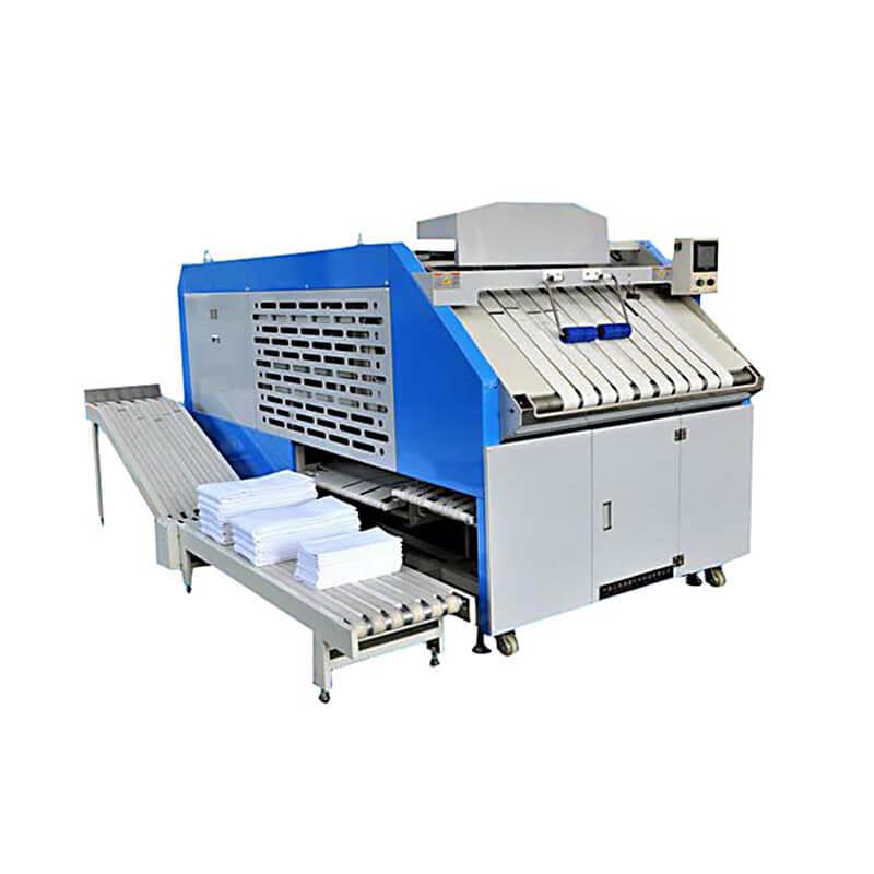 Multifunctional folder machine for bedsheets bath