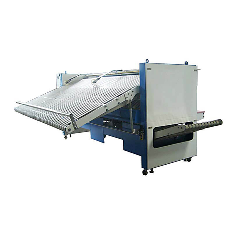Bed sheet automatic folding machine in medical engineering,textile industries,laundry factory