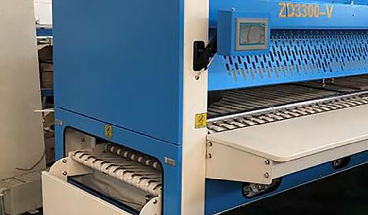 automatic towel folder multifunctional efficiency for textile industries-4