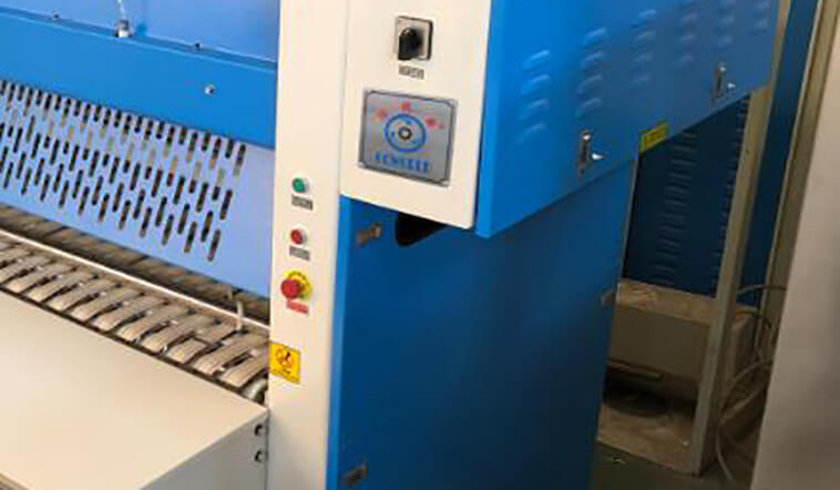 GOWORLD bath folding machine high speed for laundry factory-3