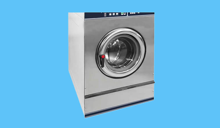 Low Noise stackable washer dryer combo stack LPG gas heating for fire brigade