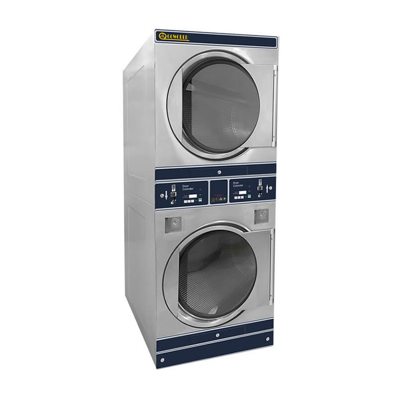 8kg-12kg Self-service double dryer for hotel,laundry shop,school