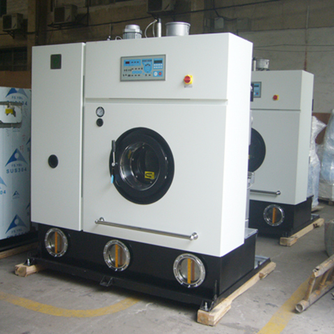 GOWORLD 8kg14kg dry cleaning equipment Easy operated for laundry shop