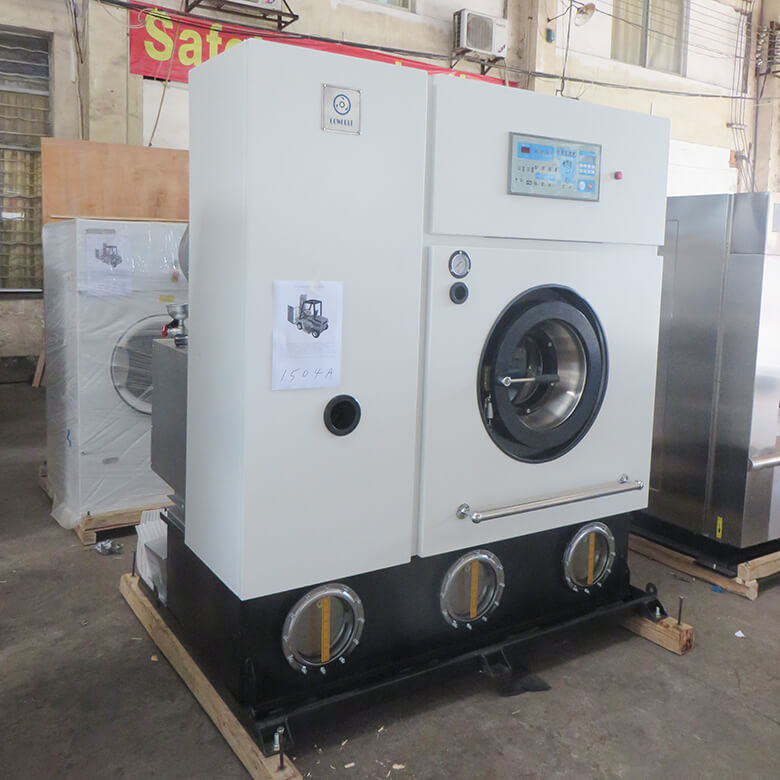 reliable dry cleaning machine dry energy saving for textile industries