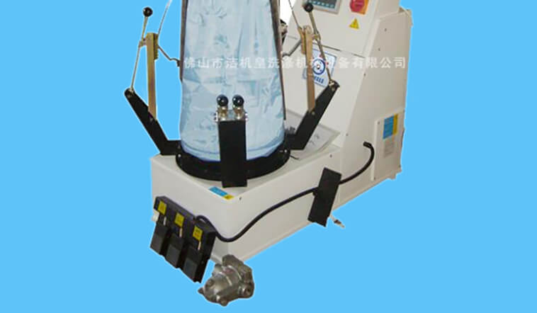 GOWORLD multifunction laundry press machine pneumatic control for garments factories-5