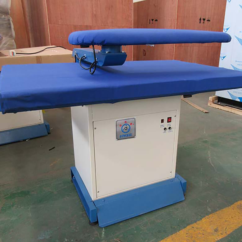 GOWORLD press iron press machine Steam heating for hospital