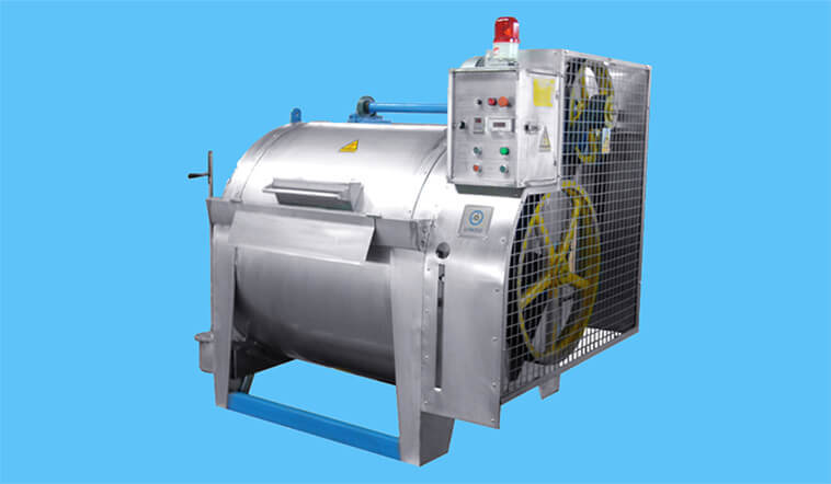 GOWORLD durable semi automatic laundry machine low noise for fire brigade