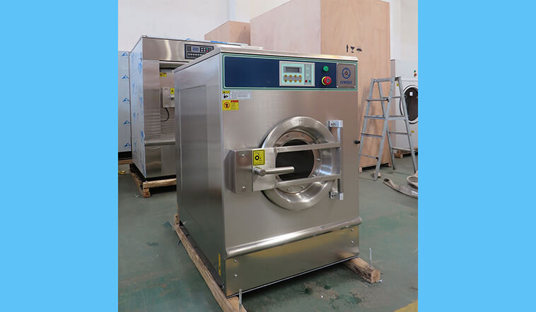 GOWORLD stainless steel washer extractor simple installation for inns-4