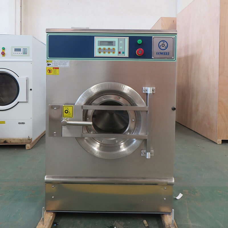 GOWORLD stainless steel washer extractor simple installation for inns-1