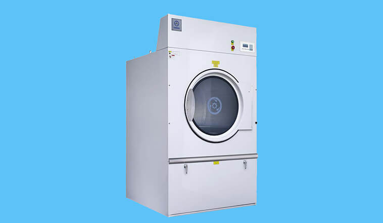 GOWORLD automatic commercial tumble dryer natural for laundry plants-8