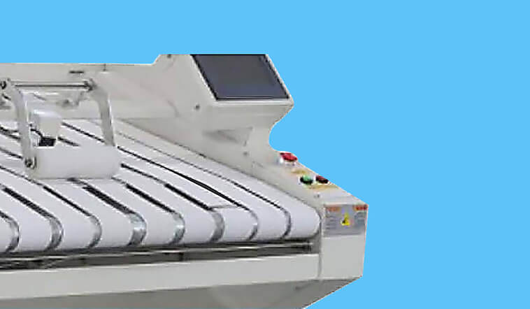 automatic towel folder folding high speed for laundry factory-2