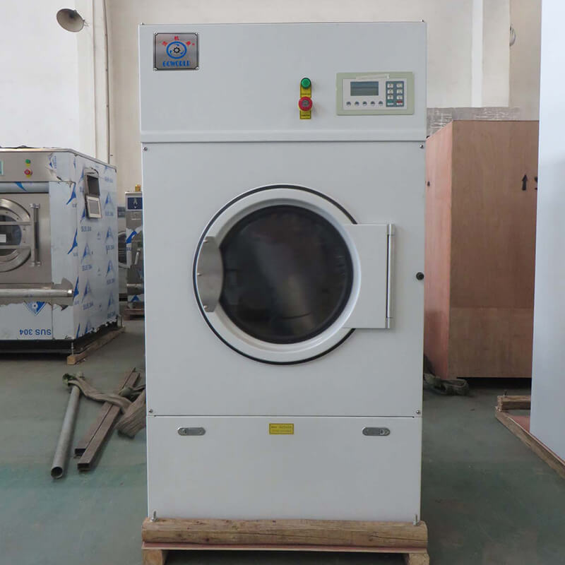safe electric tumble dryer gas for high grade clothes for hotel-2