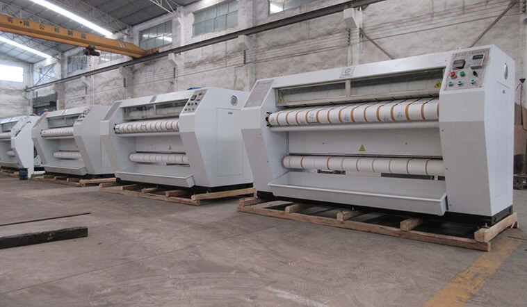 GOWORLD safe flat work ironer machine easy use for textile industries