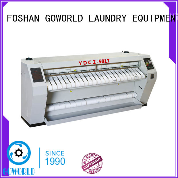 heat proof ironer machine chest easy use for laundry shop
