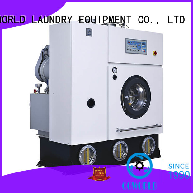 automatic commercial dry cleaning machine Easy operated for textile industries GOWORLD