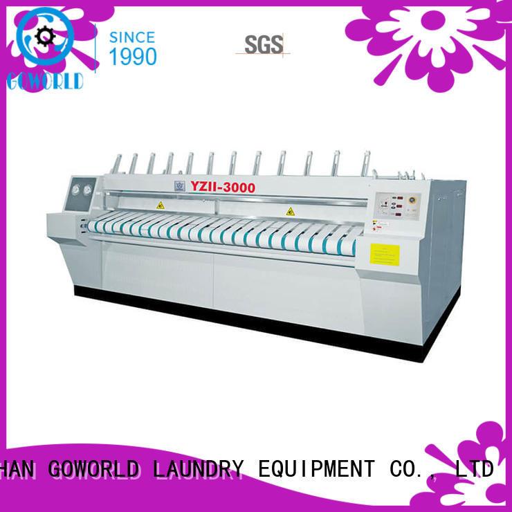 roller flat work ironer machine easy use for inns GOWORLD