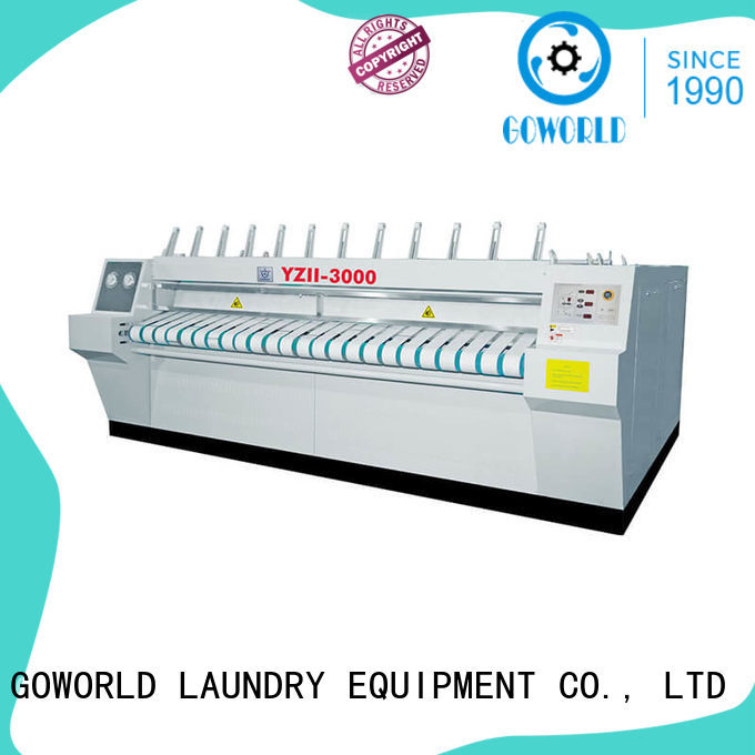 GOWORLD heat proof ironer machine free installation for laundry shop