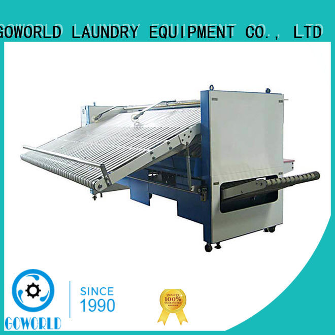 GOWORLD multifunction towel folder efficiency for laundry factory