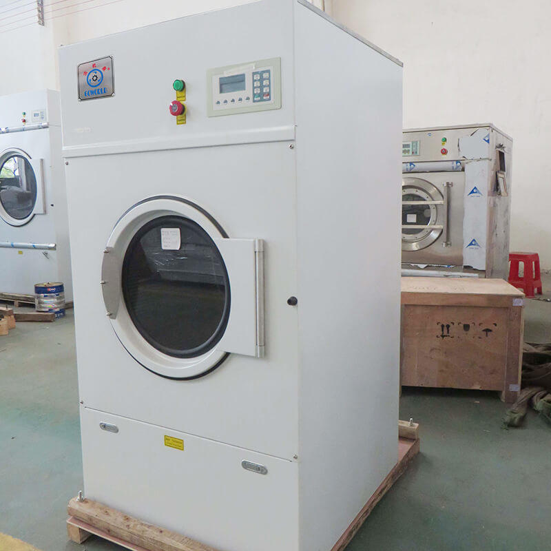 GOWORLD automatic commercial tumble dryer natural for laundry plants-3