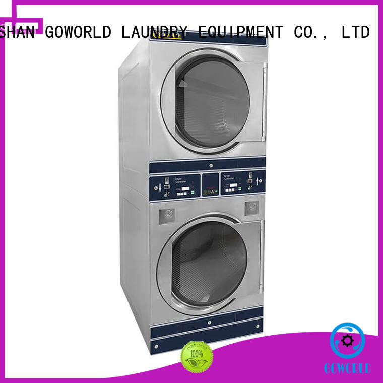 convenient self service washing machine hotel steam heating for laundry shop