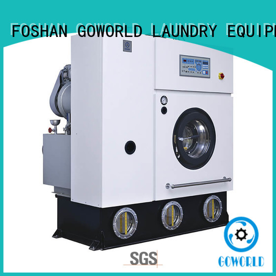 GOWORLD laundry dry cleaning machine energy saving for hotel