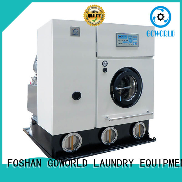 GOWORLD reliable dry cleaning washing machine China for hotel