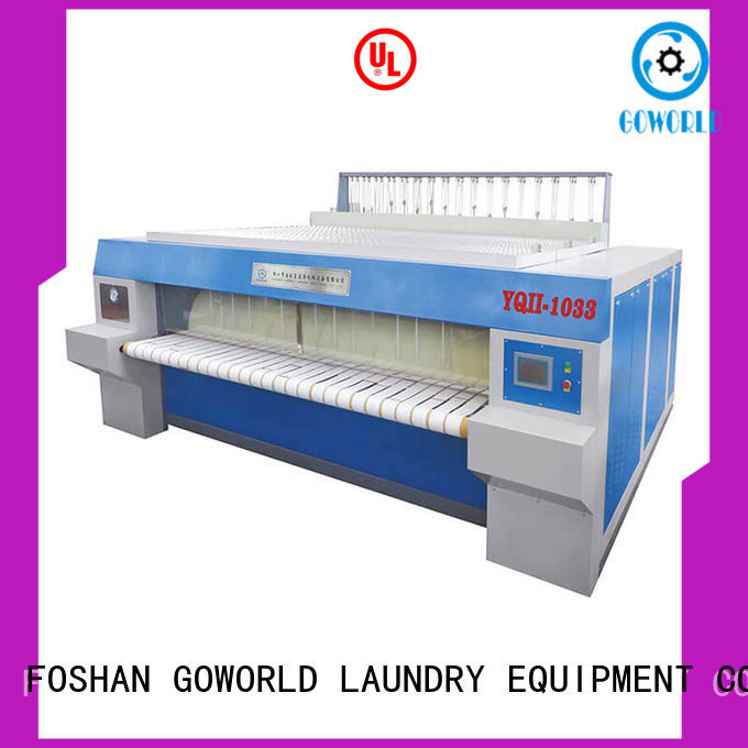 safe roller ironing machine style easy use for textile industries
