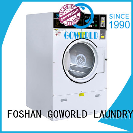 GOWORLD Brand combo shop coin operated washer and dryer fire supplier