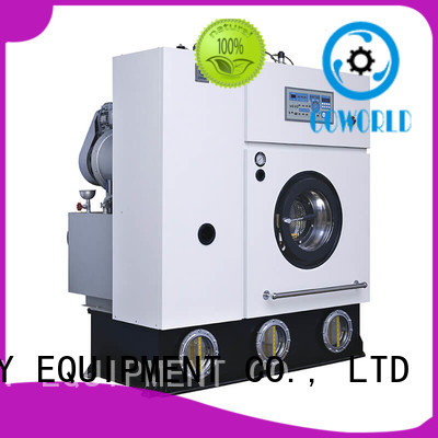 suit dry cleaning machine environment friendly for railway company GOWORLD