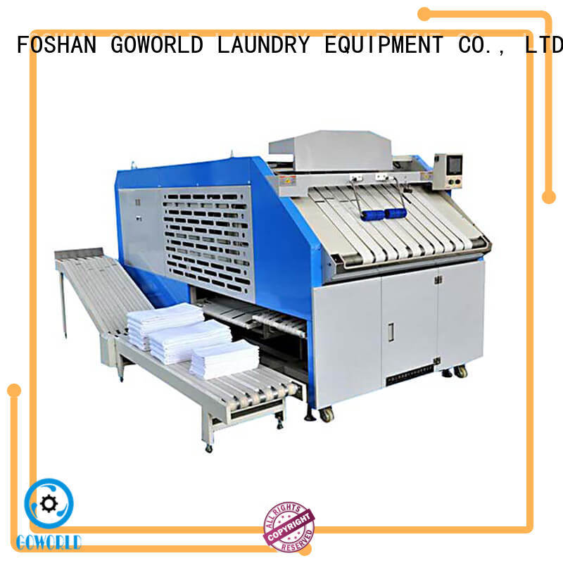 GOWORLD multifunction automatic towel folder high speed for textile industries