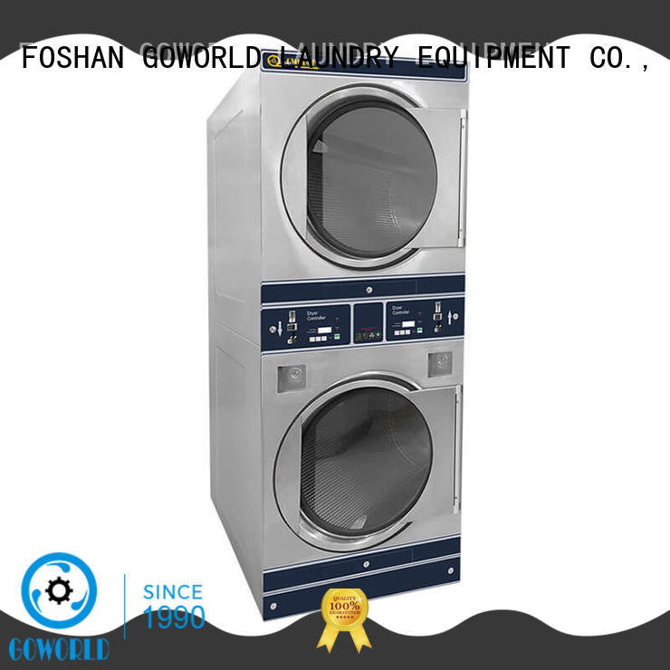 GOWORLD fire self service washing machine electric heating for service-service center