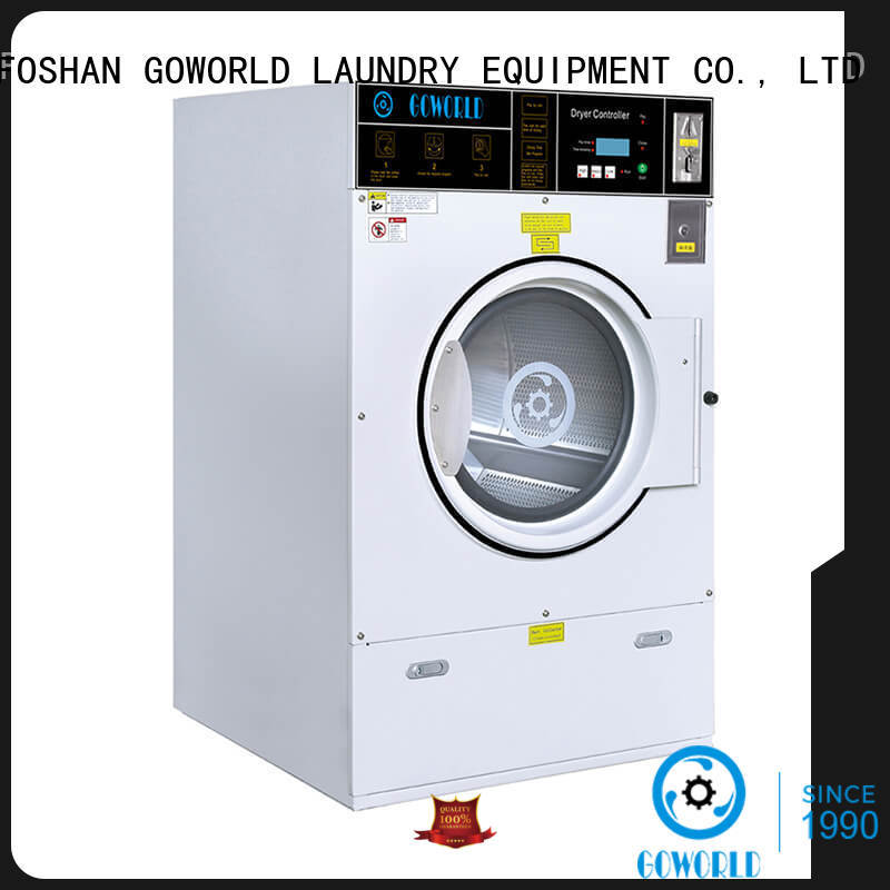GOWORLD convenient self laundry machine LPG gas heating for service-service center
