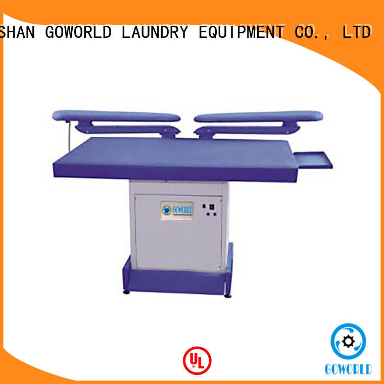 GOWORLD laundry utility press machine pneumatic control for hospital