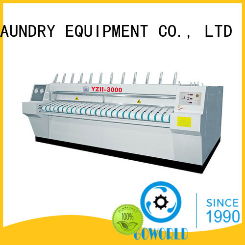 heating flat roll ironer textile GOWORLD