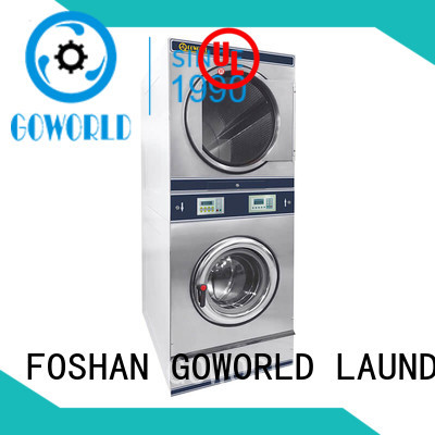 laundry combo cloth dryer machine commercial laundromat GOWORLD
