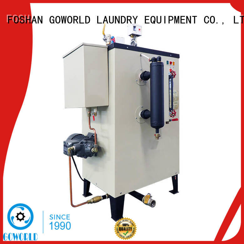 GOWORLD laundry diesel steam boiler supply for textile industrial