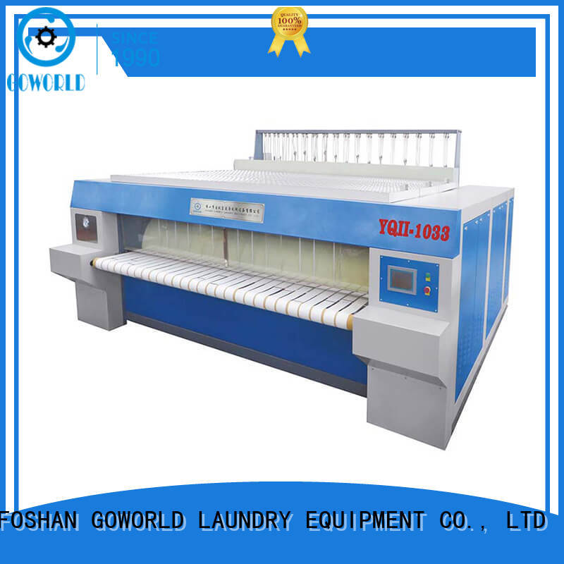GOWORLD high quality ironer machine for sale for textile industries